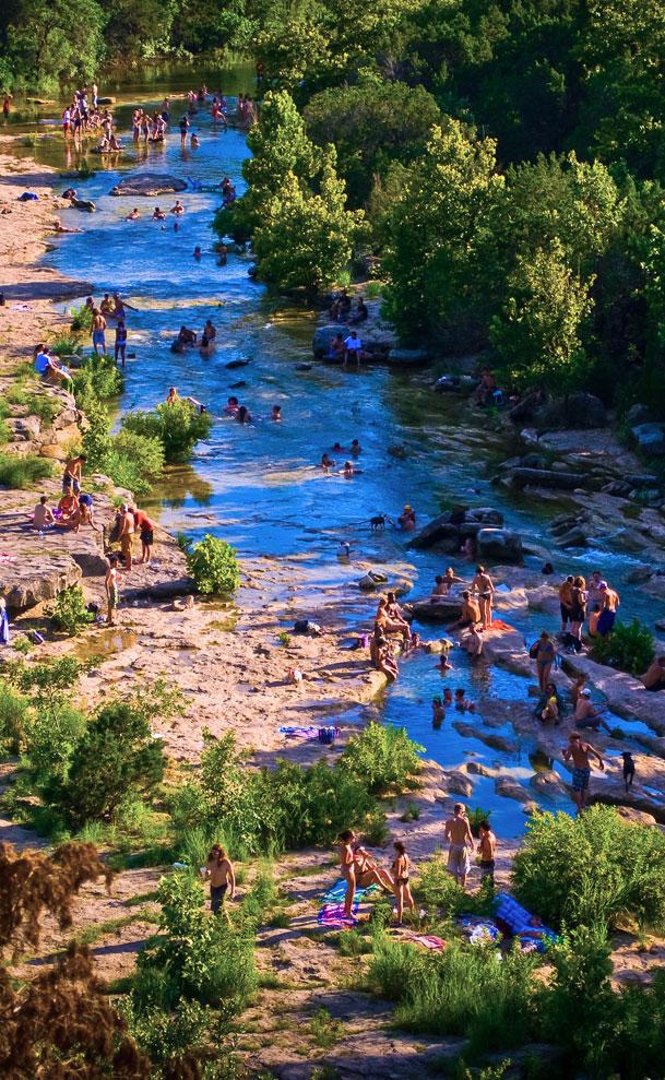 Barton Springs, Austin, Texas